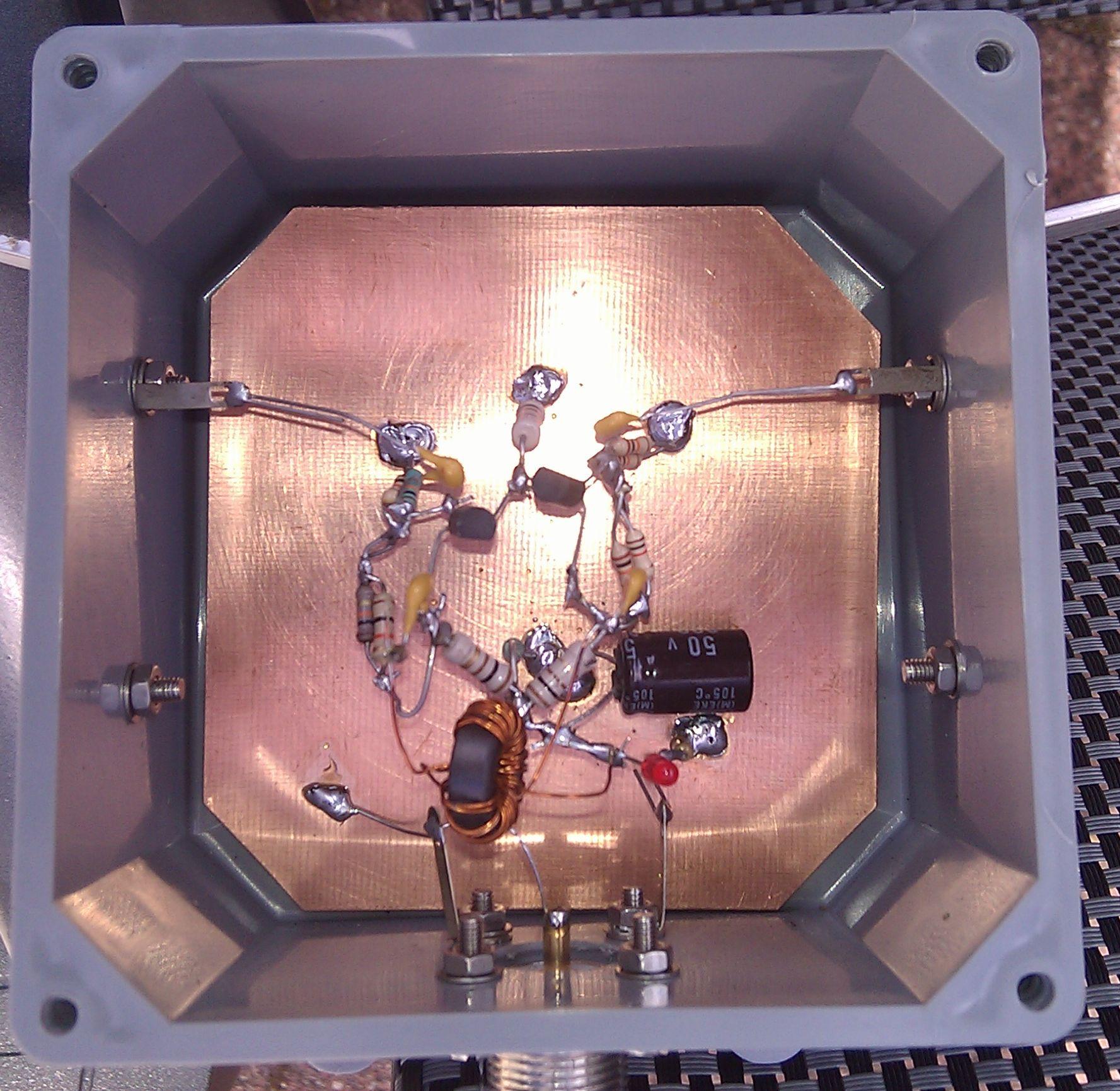 Simple active receive loop - PA1M - Amateur Radio
