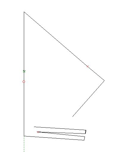 PA1M C-antenna 80-160 with traps and foldback